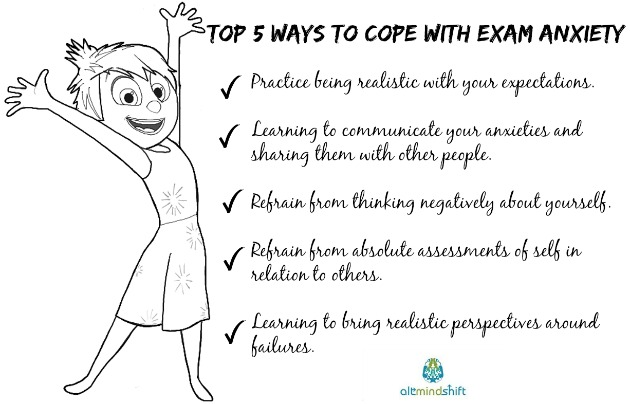 Top 5 Ways to Cope with Exam Anxiety