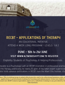 Pune RECBT June 2019